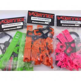 Crash Kit plastique Rose pour Vortex 285 ImmersionRC