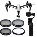Pack 4 filtres pour DJI Inspire 1 et Osmo - Freewell