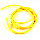 Cable silicone 12awg jaune fluo 1 metre