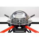 Chassis hexacopter quadframe avec support montage pour moteurs 35mm