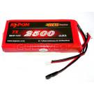 Batterie LI-PO kypom 2500mah plate prises hitec et futaba pour TX radio