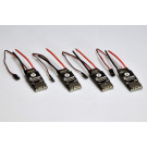 "Controleur brushless 30a TBS ""Bulletproof"" en coffret de 4"