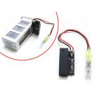 Déchargeur de batterie de Phantom 3 HD / 4K ou Phantom 2 / Vision / Vision+ ou Inspire 1 ou Ronin