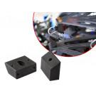 Cales 55° pour système d'amortisseur de nacelle par câble