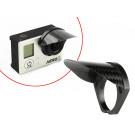 Casquette carbone pour caméra GoPro 3 / 3+ / 4