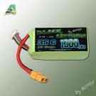 Black lithium 1300mah 35c 3s connecteur XT60 idéal pour ZMR250