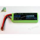 Batterie Black Lithium 2500mah 35C 3S DEAN