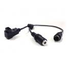 TSLRS Cordon avec connecteurs radio Sherrer UHF
