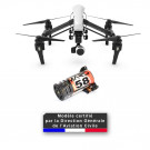 Homologation DGAC S1/S2/S3 + Parachute pour DJI Inspire 1