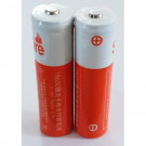 Batteries lithium 3,7V rechargeables