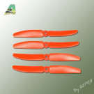 Hélice PTK (2 Paires CW+ CCW) 5x3 Orange