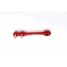 Support pour mat Gps 4mm rouge