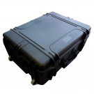 Valise professionnelle étanche 620x460x340 mm int. sur trolley (Vide)