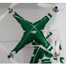 """Stickers pour carénage Phantom 2 """"Green"""""""
