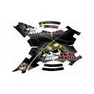 """Stickers pour carénage Phantom 1 et 2 """"Metal Mulish"""""""