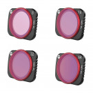 Pack de 4 filtres ND-PL professionnels pour DJI Mavic Air 2